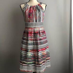 Nine West Striped Racerback Dress